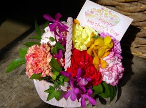 母の日ギフト 生花アレンジメント 2015