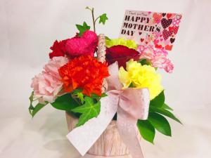 母の日ギフト 生花アレンジメント 2016