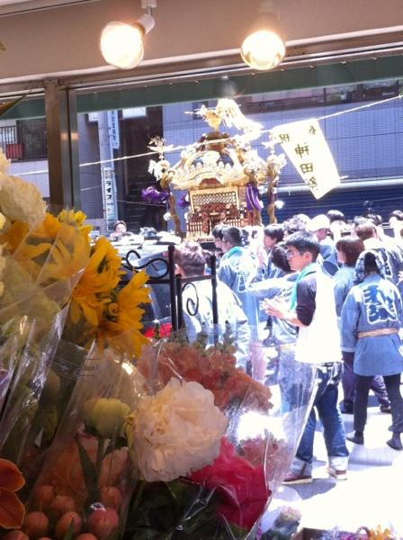 神田祭り神輿